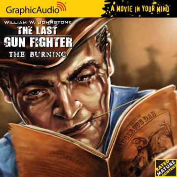 8. The Burning  (The Last Gunfighter Series) Audio CD