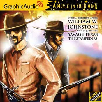 3. The Stampeders - (Savage Texas Series)  Audio CD