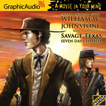 5. Seven Days to Hell (Savage Texas Series) Audio CD