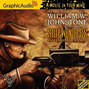3. Cutthroat Canyon  (The Sidewinders Series) Audio CD