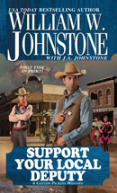 6. Support Your Local Deputy (Blood Valley Series)
