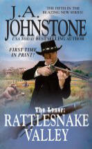 5. Rattlesnake Valley (Loner Series) USED BOOK